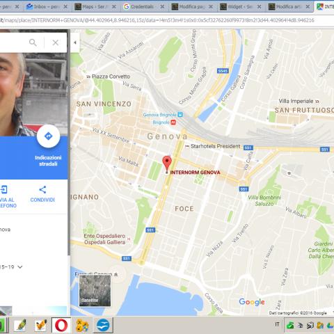 Finestre porte infissi e serramenti Genova... amici di Google Maps?!?!?