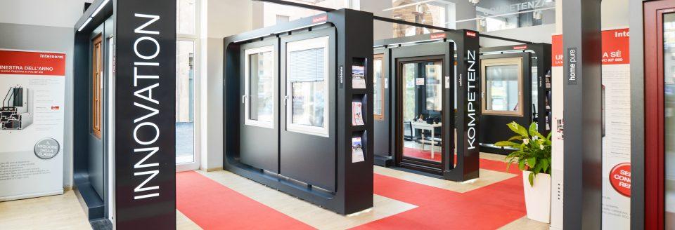 flagship store Internor Genova (showroom di Ser.Mobil.)