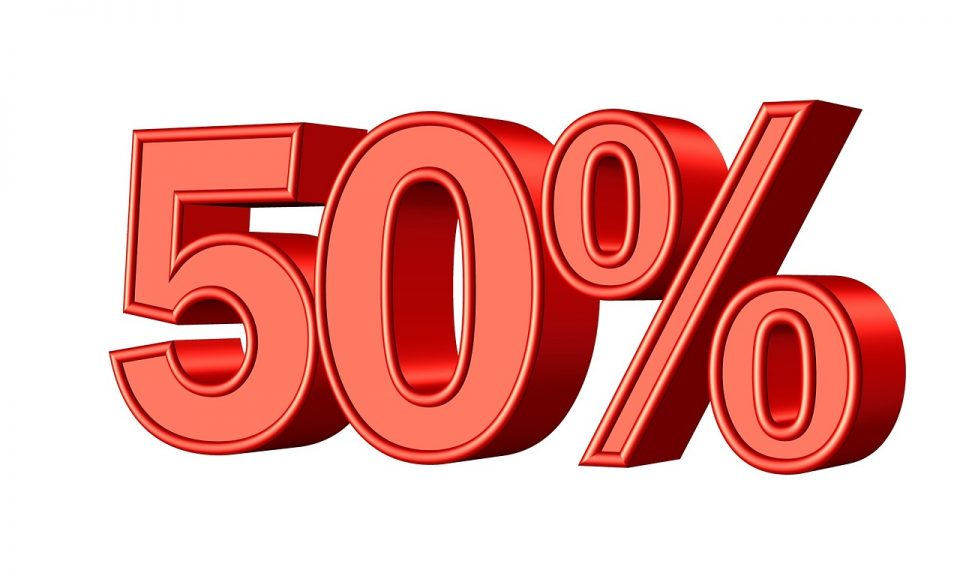 Detrazioni Ecobonus 2020, 50% in meno